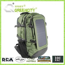 Solar backpack with 16000mAh Power Battery