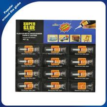 OEM Black Card Super Glue for Asia / Africa Market