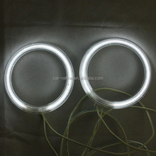 car parts HALO ring light kits white blue 80mm full ring for cars CCFL angel eyes