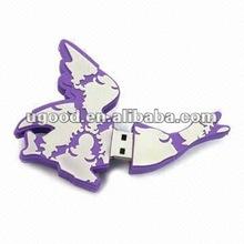 Cartoon Rubber USB Storage 8GB