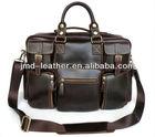 2014 venda quente melhor- revista de estilo ocidental moda homem de cor chocolate superior couro genuíno bolsa saco, #7028q