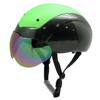 New developed aero short track ice skate helmet with goggles