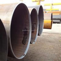 welded steel pipe LSAW pipe ASTM/DIN/BS standard