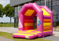 Factory outlet good quality inflatable princess bouncy castle/prince bouncy/fairytail bouncy