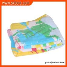 Atacado brilhante cor cobertor do bebê fotos, super bebê cobertor macio