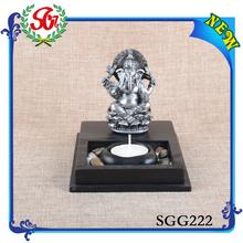 SGG 222 3D <span class=keywords><strong>escultura</strong></span> <span class=keywords><strong>de</strong></span> Ganesh arte <span class=keywords><strong>de</strong></span> la resina venta al por mayor