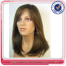 100 brazilian human hair full lace wig with baby hair jewish wig kosher wigs