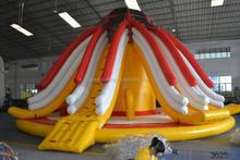 commercial use 1000 ft slip n slide inflatable slide the city