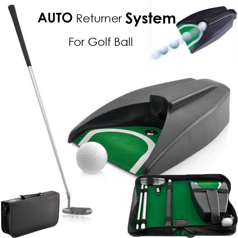 Poster Home Indoor Office Outdoor Golf Training Set Ball Return System, Zinc Alloy Putter Golf Training Aids jpg.jpg