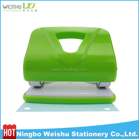 manual paper punch/2 hole punch & stapler 2 in 1/boxing punch machine