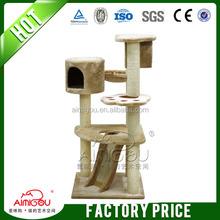2014 china top sale wholesale cat condo indoor cat tree
