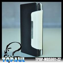 Hot!!!Classic PU leather case folio case iphone6 leather folio case