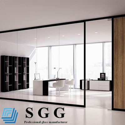 Glass Curtain Wall View Modern Glass Wall Art Decor SGG Product