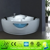 HS-B250 corner install triangle for two person 52 inch bathtub indoor