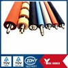 Chinese customized rubber rollers with various colors and dimensions