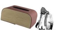 leather napkin holder, tissue holder, tissue box holder for car