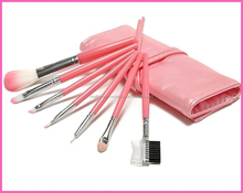 7 pcs Professional Cosmetics Makeup Brush Set Make-up Toiletry Kit Brand Make Up Brush Set Case