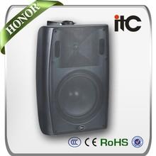 ITC T-776H High Sound Quality 40W 8 ohms Stereo Wall Mount Bracket Speaker