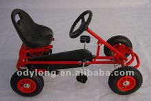 hot sell manual assembly kid's pedal go kart F90A