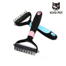 pet products deshedding tool brush for cat and dog