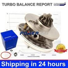 kkk cartridge turbo parts 740821 740821-0002 turbocharger core chra for Mazda 3 1.6DI DV6TED4 80KW oem 3M5Q-6K682-AE