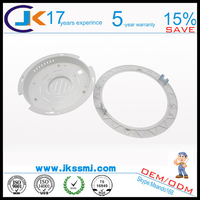 indoor 5630 smd pc plastic raw material led panel light part case