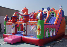 2015 Hot for rental ! Inflatable castle ,inflatable playground /inflatable trampoline