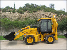 2015 brand new China backhoe with loader prices
