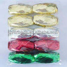 Poly Decorative Bow/Curly Ribbon Egg/Ribbon Bow Packing in Bag