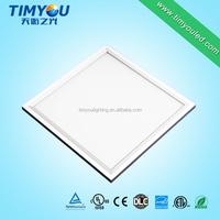China Supplier UL ETL Approved Flood Led Lamp 60x60 Aluminum Frame SMD2835 smd 6060 led panel light