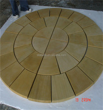 good quality building yellow sandstone , exterior sandstone stone window frame