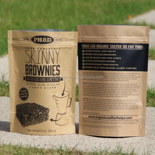 brown/kraft paper bag food grade petg beef meat/rice/sugar/candy packing paper for meat packing