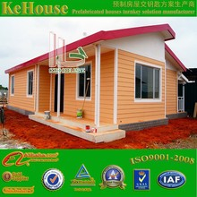 2015 newest style luxury modern house design prefabricated house