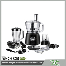 latest style high quality multi function 10 in 1 food processor
