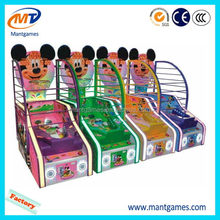 Top grade Small basketball/export simulation kids redemption game machine