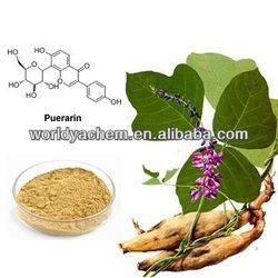 Pueraria Root P.E Isoflavons40%~80%,Puerarin 15%~98% 3681-99-0