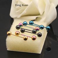 2015 hot sale fake industrial piercing jewelry