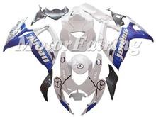 White Blue ABS Fairings Kit GSX R600/750 2006-2007 K6 For Suzuki Injection ABS Fairings