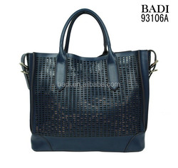 Laser cut your logo on bags women high grade retro vintage designer handbags imports from china