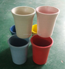 Pots Type and Not Coated Finishing biodegradable bamboo fiber garden flower pots