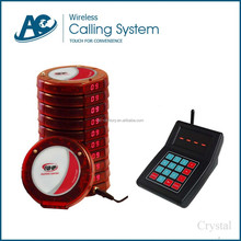 intelligent and alphanumeric cafe shop and fast pizza call buzzer system