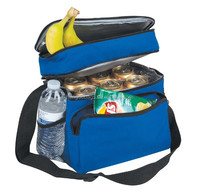 2015 oem factory insulated 6can Cooler bag with shoulder pad for promotional