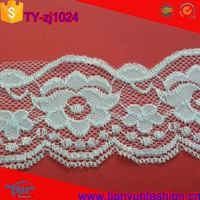 cheapest factory price nylon with spandex wholesale elastic sewing lace trim