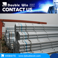 Hot Dipped/rolled Galvanized steel tube manufacturer!!!Electronic Resistance Welded steel pipe,galvanized steel pipe
