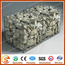 Factory galvanized welded gabion box stone cage