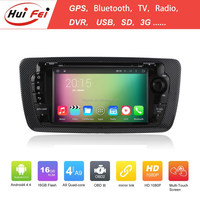 """Capacitive Touch Screen 7""""HD Hifi Car Multimedia System Quad-core Audio System For Seat Ibiza"""