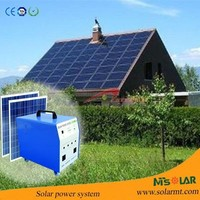 2014 New Product China Supplier Rechargeable 20W home solar system
