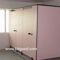standard pink HPL Laminate/Toilet Partition Cubicle for sale
