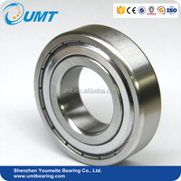 High Quality Low Noisy Deep Groove Ball Bearing 6303 ZZ 2RS for Cement Factory Machinery