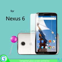 tempered glass clear screen protector for Google Nexus 6